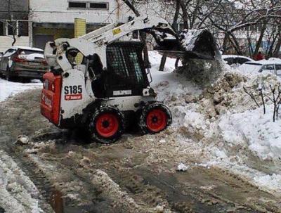 Ковш для уборки снега для джипа